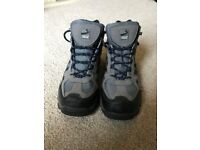 Grey/Blue Freedom Trail Lowland Walking Boots Size 7 UK
