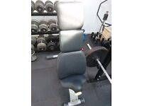 Technogym adjustable weight bench commercial