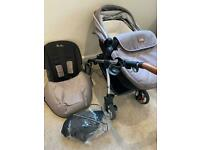 Silver cross Wayfarer Chelsea limited edition pushchair & carrycot
