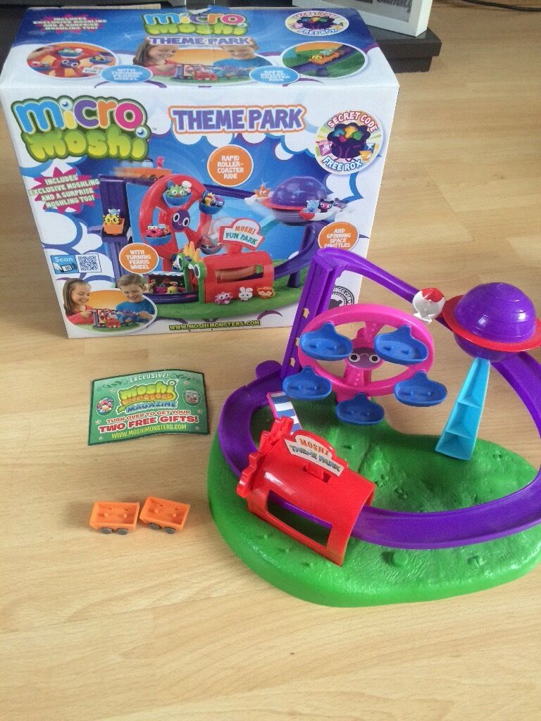 Micro Moshi Monster theme park in boxin Sale, ManchesterGumtree - Micro Moshis theme park, come in original box. Also have listed micro Moshi bundle and other pieces