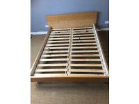 Habitat wooden king size bedframe