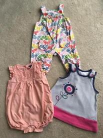 3-6 mths baby girl clothes