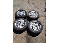 DEAL 4x16 5x108 ALLOY WHEELS TYRES FORD MONDEO C S MAX GALAXY