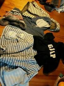 Big bundle of boys 6-9month clothes