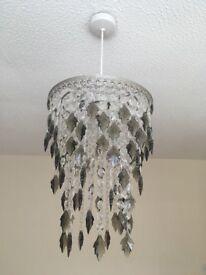 Crystal light chandelier shade