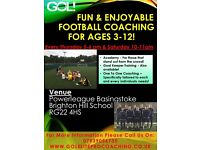 junior football coaching