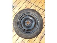 Wheel Rim with New Tyre 185/65 R15