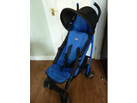 Chicco ECHO Pushchair/stroller/buggy + raincover, basket, hood