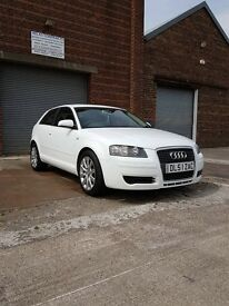 ***reduced price*** White Audi A3 SPECIAL EDITION 1.9 TDI 3dr 17inch Audi alloys