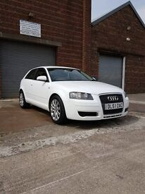 White Audi A3 SPECIAL EDITION 1.9 TDI 3dr 17inch audi alloys