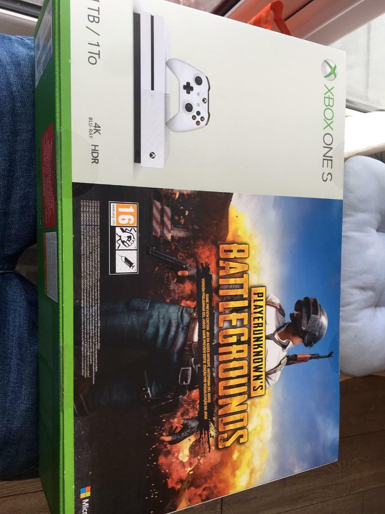 Brand new sealed white 1 terabyte Xbox one s with 1000 free games | in  Blackpool, Lancashire | Gumtree
