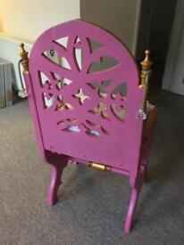 Beautiful new bedroom chair with cushion