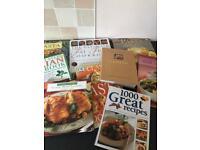 Cookery books - 9 books