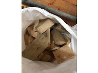 Wood offcuts - perfect for wood burner, bonfire, fireplace