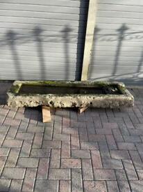 Stone trough/planter