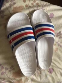 Adidas Sliders - Size 10