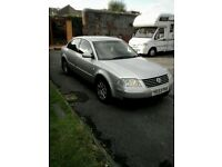 vw passat 1.9 tdi (130) new mot ,very good condition