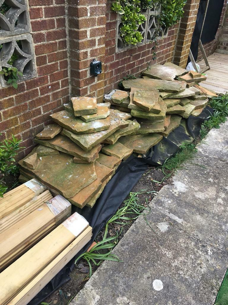 Garden patio slabs | in Portsmouth, Hampshire | Gumtree