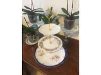 Choice of Vintage China Shabby Chic 3 Tier Cake Stands