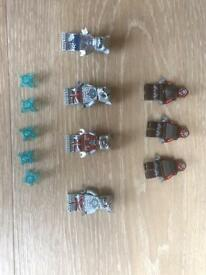 7 Chima lego characters and 5 chi
