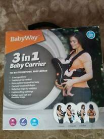 3 in 1 Baby carrier BabyWay