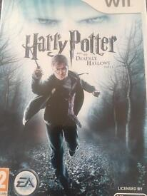 HARRY POTTER AND THE DEATHLY HALLOWS PART 1 wii game