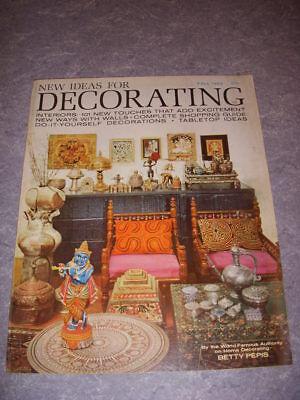 NEW IDEAS FOR DECORATING, FALL 1963, DESIGNER BETTY PEPIS, MID-CENTURY DECOR!](Fall Decorations Ideas)