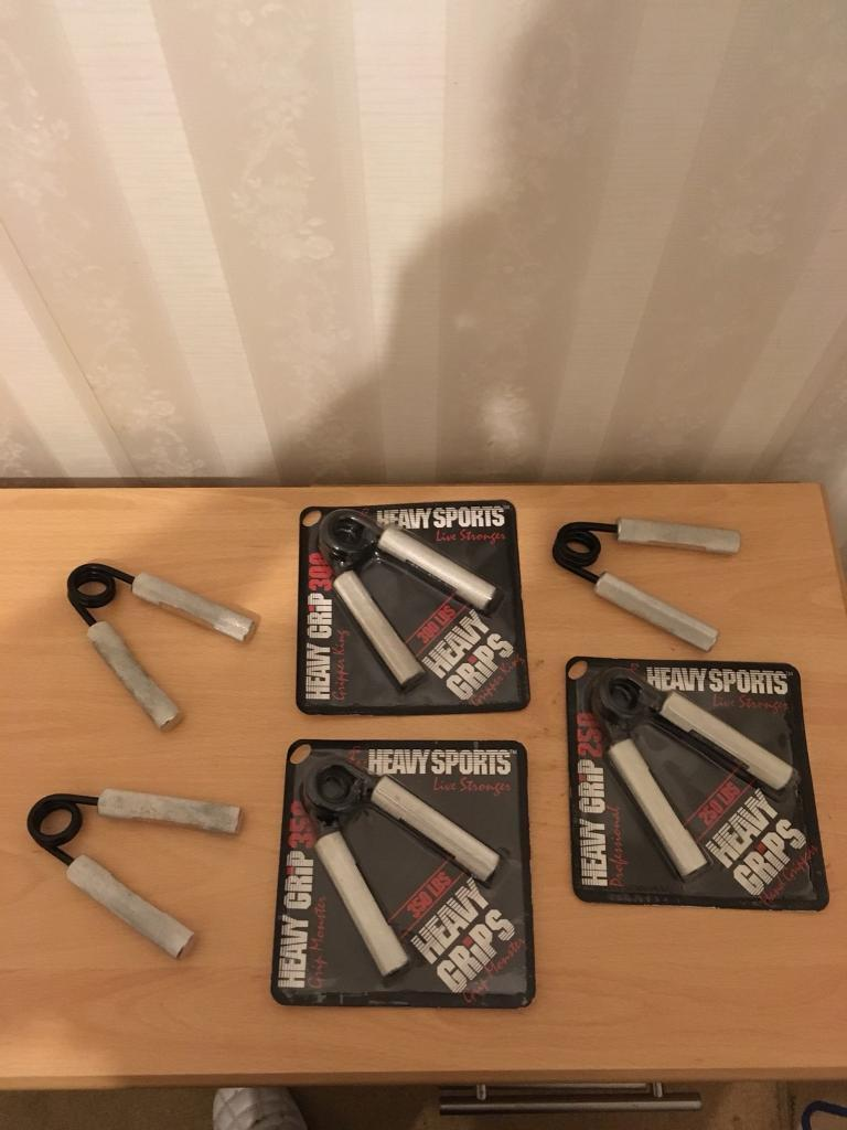***HEAVY HAND, LIVE STRONGER GRIPPERS FROM 100-350LBS, IMMACULATE CONDITION , GYM EQUIPMENT***