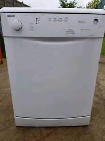 Beko DWD4311W dishwasher 50l