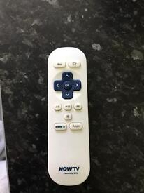 Now tv remote