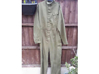 EX BRITISH ARMY BOILER SUITS IDEAL PAINTBALL / GO-CARTING