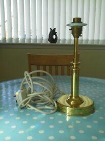 BRASS LAMP BASE