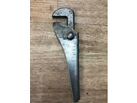 Old adjustable wrench
