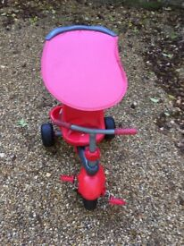 Child/kids red trike