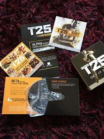 T25 focus work out dvds complete