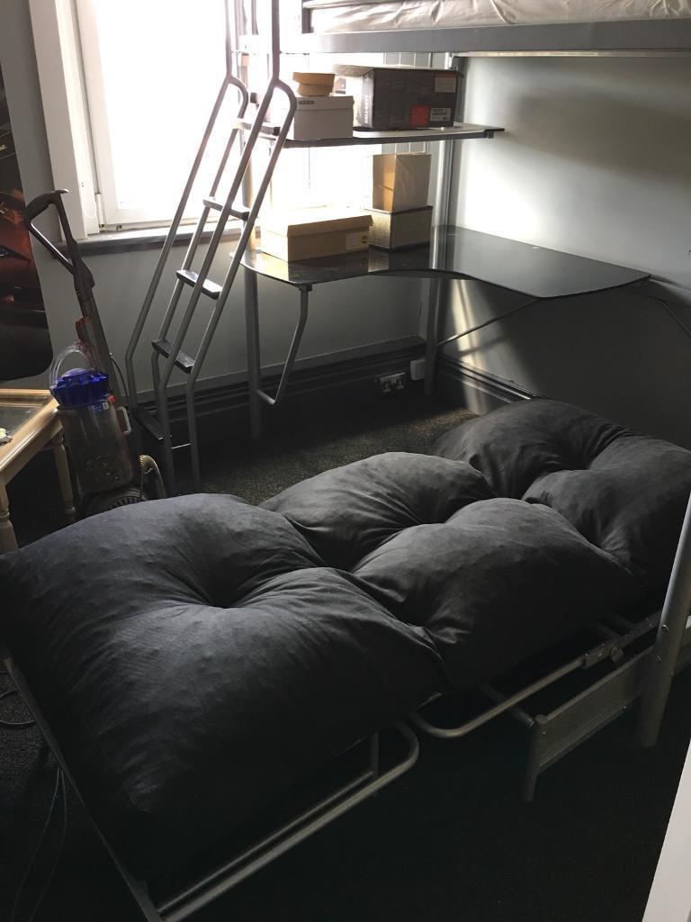 Bed Work Desk Futon