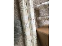 New Laura Ashley wallpaper shabby chic tatton truffle