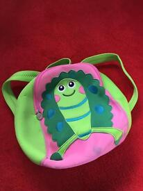 Toddlers first backpack