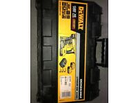 Dewalt sds drill used once 4ah x2 charger