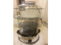 Almost NEW Tefal 3 tier electric Steamer with instruction & Recipes for £23, Central London