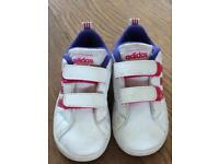 V cute adidas toddler trainers size 6 uk 23 eu.
