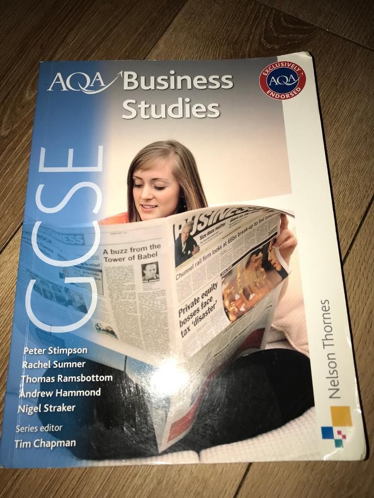 GCSE AQA business studies book