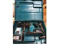Makita 36 volt cordless sds drill
