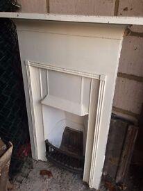 Original Victorian Bedroom Fireplace