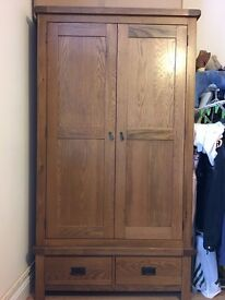 Large Strong Solid Wood Wardrobe