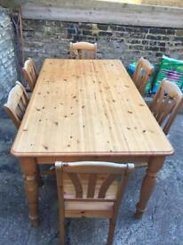 Ikea Dining table with 6 chairs open to offers in W93NJ