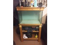 Hand made fish tank for sale