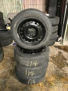 185 60R 65R 15 MICHELIN XICE XI3 WINTER SNOW TIRES & RIMS 4X114.3 BOLT WORKS ON NISSAN SENTRATOYOTA HYUNDAI HONDA & MORE