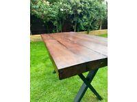 Rustic Handmade Dining Room Table