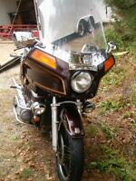 Gold Wing Project bike